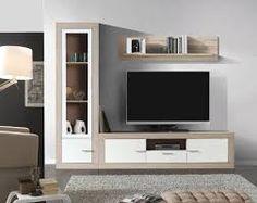 Resultado de imagen de salon modernos Space Saving Furniture, Home Furniture, Furniture Design, Lcd Panel Design, Decoration Hall, Tv Stand Designs, Muebles Living, Tv Wall Design, Little Houses