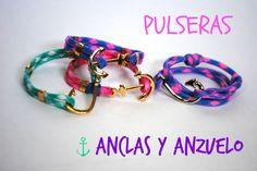 Pulseras Anclas y Anzuelos