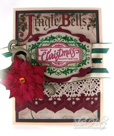 JustRite Christmas Antique Labels One