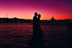 Sunset over Helsinki Portrait Inspiration, Helsinki, Wedding Portraits, Silhouette, Sunset, Tops, Sunsets, The Sunset