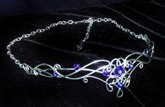 elf headpiece lord of the rings | ... Elizabethan Renaissance circlets elf crowns wedding bridal veils