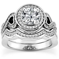 1.10CT Round Cut Solitaire Diamond Engagement by GetDiamondsDirect, $2063.99