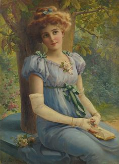 A Sweet Glance by Émile Vernon