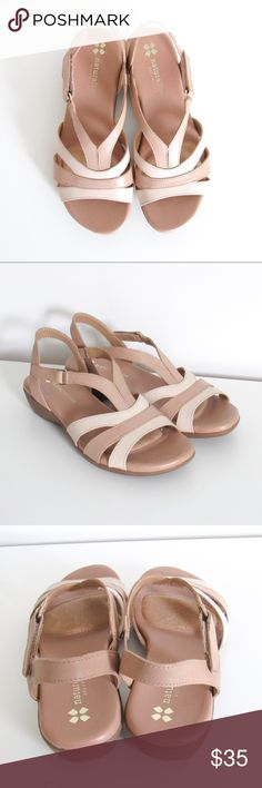 NWOT Naturalizer N5 Contour Sandals Size 6 in women's but would fit a size 4.5 in girl's 23 cm in length Material: leather (upper)  In perfect, like new condition! See pictures Please feel free to ask any questions!  BUNDLE THIS ITEM WITH 1 OR MORE TO SAVE ON SHIPPING & GET 5% OFF!! Naturalizer Shoes Sandals
