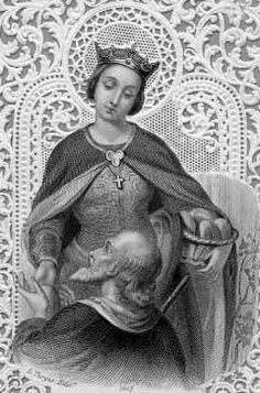 Saint Elizabeth of Hungary pray for us and against in-law problems, against the death of children and for brides and charities.  Feast day November 17.