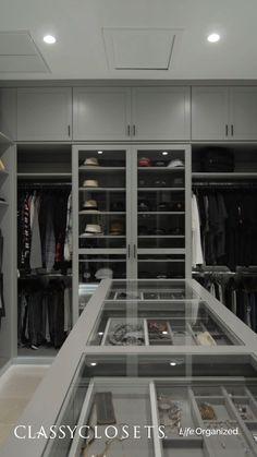 Master Closet Design, Custom Closet Design, Walk In Closet Design, Master Bedroom Closet, Closet Designs, Wardrobe Design, Bedroom Closets, Master Master, Custom Closets