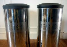 Toss or recycle? DIY Trash Can Transformation : )