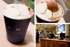 12 Days of Hot Chocolate: Grom Affogato, Nyc Restaurants, Serious Eats, Cold Day, 12 Days, Tis The Season, Gelato, Hot Chocolate, Ice Cream