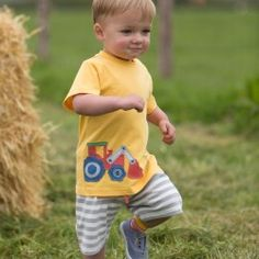 Kite Baby Boy Tractor T shirt (0-3 Years)