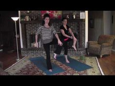 Yoga balancing poses with Lindsay Wilson- Trainer In Your Back Pocket - YouTube