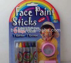 Face Paint Stick 6 Color Set For Children/Party
