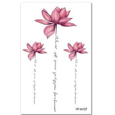 Shellhard Womens Waterproof Temporary Lotus Tattoo Sticker Pink Lotus Flower Tattoo Sticker For Body Art Tattoo Stickers Kunst Tattoos, Body Art Tattoos, Small Tattoos, Side Body Tattoos, Tattoo Stickers, Body Stickers, Form Tattoo, Shape Tattoo, Color Tattoo