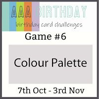 Craftomania: AAA Birthday Challenge #6 - Color Palette Elizabeth Craft Designs, Design Crafts, I Card, Something To Do, Palette, Challenges, My Love, Birthday, Color