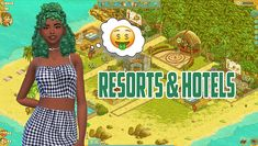 Resorts & Hotels Mod Created for: The Sims 4 by kawaiistacie Requires: Base Game & Vintage Glamour* Patch: Updated: Update Notes: *I tried to make this mod as base game compatible as. The Sims, Sims Cc, Los Sims 4 Mods, Sims 4 Game Mods, Vintage Glamour, Sims 4 Traits, Wicked, Best Sims, Sims Resource
