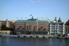 Chris & I stayed here and it is prime location to Stockholm ❤Annette❤ Grand Hotel  Stockholm