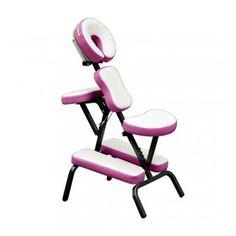 Buy Portable Folding Massage Chair Pink |Homcom