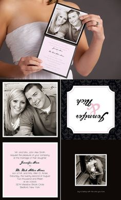 The Norkfolk  Photo Wedding Invitations by BasicInvite on Etsy, $0.99