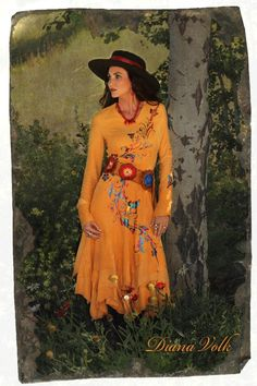 Peach Rough Edge Lamb Suede Dress by Meredith Lockhart Collections This would be my dream dress Cowgirl Outfits, Cowgirl Style, Western Outfits, Vintage Cowgirl, Cowgirl Clothing, Cowgirl Chic, Western Style, Country Style, Stylish Outfits