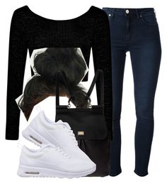 """."" by trillest-queen ❤ liked on Polyvore featuring Acne Studios, Boohoo, Dolce&Gabbana and NIKE"
