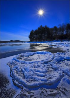 Moonscape, Quabbin Reservoir, Massachusetts