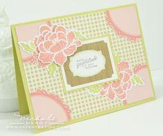 Pretty Peonies Card