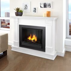 Shop Real Flame G8600 Silverton Indoor Gel Fireplace at The Mine. Browse our fireplaces, all with free shipping and best price guaranteed.