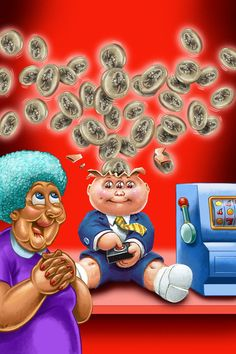 BRENT ENGSTROM'S BLOG: Garbage Pail Kids Flashback 3 Adam Mania cards