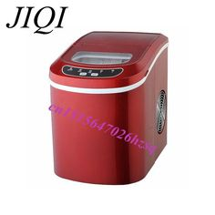 portable ice maker beautiful and useful one button Operaion LED display Dry automatic power-off easy-washing S/L two  Ice cubes