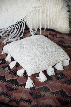 White Sands Crochet Cushion Cover - Spell Designs