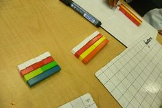 factors with Cuisenaire rods