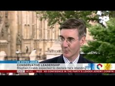 Jacob Rees Mogg supports Boris Johnson to be Prime Minister