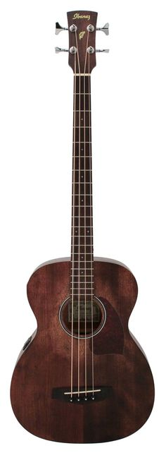 Ibanez PCBE12MH OPN Open Pore Natural Acoustic Electric Bass