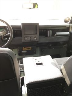 Land Rover Defender dash panel