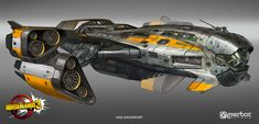 ArtStation - Borderlands 3 - Sanctuary 3 Concept, Max Davenport The thing is this will Space Ship Concept Art, Concept Ships, Spaceship Art, Spaceship Design, Rpg Cyberpunk, Nave Star Wars, Starship Concept, Sci Fi Spaceships, Space Engineers
