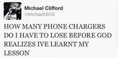 Michael's tweets always make my day.
