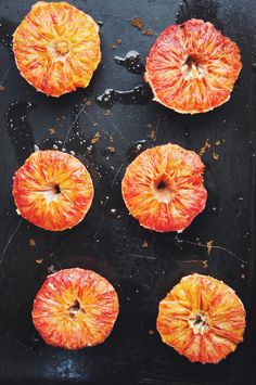 Roasted Blood Oranges: for topping hot cereal, pancakes, salad, or whatever suits a burst of citrus.