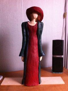 Mijn keramiek-Dame uit Kreta