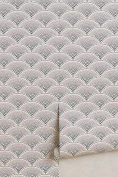 Eventail Wallpaper - anthropologie.com