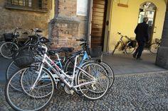 In bici a Reggio Emilia - Italia