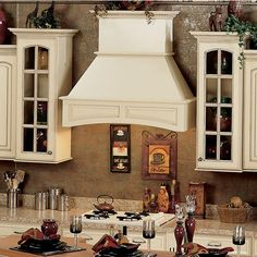 Signature Series Arched Wall Mounted Range Hood - by Omega National #kitchensource #pinterest #followerfind