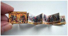 Open House Minaitures - How to make an accordian fold book - Mcloughlin Circus Procession