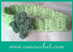 How cute is this crochet headband? With its lace-like design and an adorable bow on top, the Super Pretty Bow Headband will quickly become your little girl's favorite accessory. You'll also love that this crochet headband will keep hair out of her eyes, especially on a hot summer's day. Consider making time to crochet a headband or two so you can always have extras stashed in your purse. If you'd like, you can also make additional headbands in an assortment of different colors...