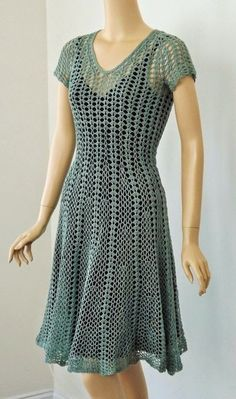 Dy Crochê!: Vestidos.                                                                                                                                                                                 Mais