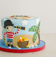 Pastel Pirata Pirate Cake