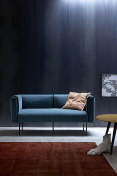 2 seater fabric sofa ONNI by Novamobili