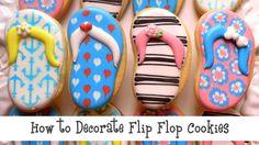 How to Decorate Flip Flop Cookies