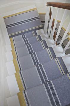 RO_Cluny_Yellow10 MR Yellow Carpet, Grey Carpet, Modern Carpet, Striped Carpet Stairs, Striped Carpets, Stain Remover Carpet, Modern Staircase, Carpet Runner, Neutral Colors