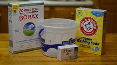 DIY dishwasher detergent.  I can't stop singing the praises of Borax.