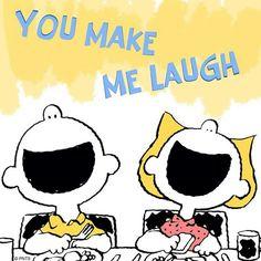 Peanuts always makes me laugh!