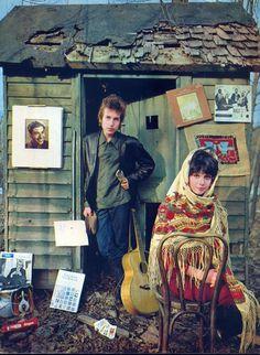 Bob Dylan & Sara Lownds (Sara Dylan)
